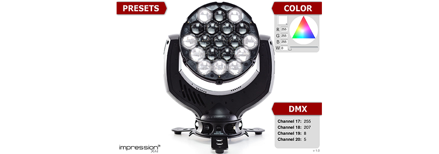 The impression X4   GLP, German Light Products