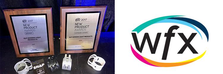 SNAP Wins WFX New Product Award