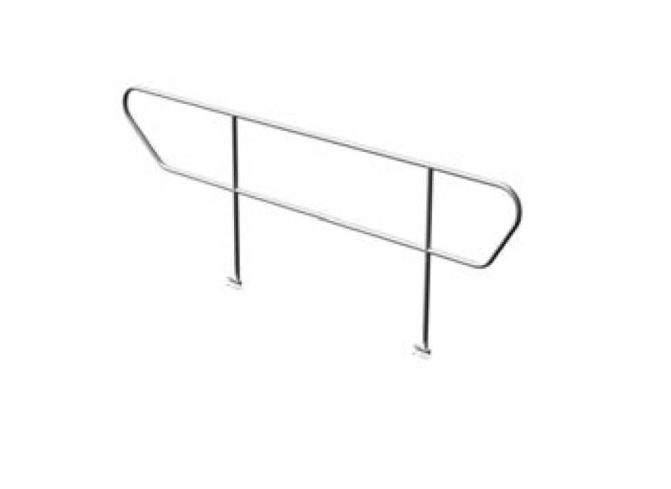 CT Stage Deck adjustable Steps Railings