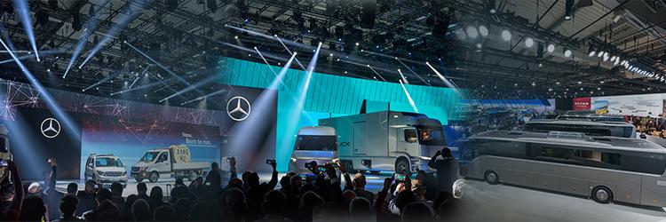 Daimler AG booth